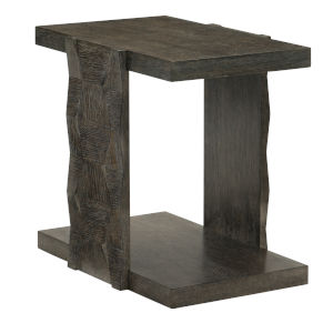 Linea Black Rectangle End Table