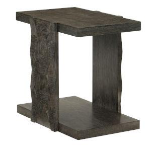 Linea Black Rectangle End Table