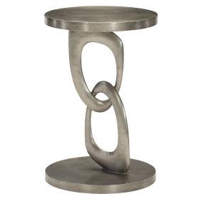 Linea Graphite Chairside Table