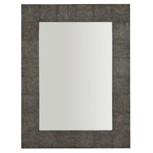 Linea Black Rectangle 38 x 50 Inches Mirror