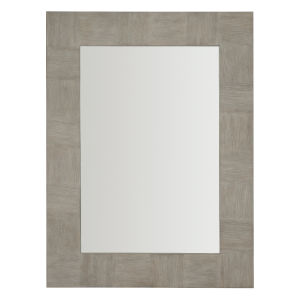 Linea Gray Rectangle 38 x 50 Inches Mirror