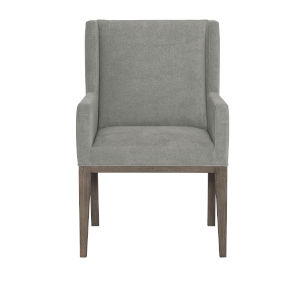 Linea Gray Dining Arm Chair