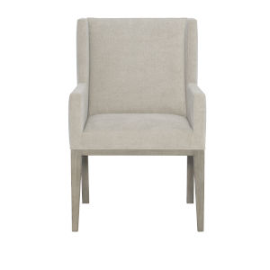 Linea Light Gray Dining Arm Chair