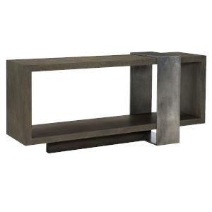 Linea Black Console Table