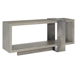 Linea Gray Console Table