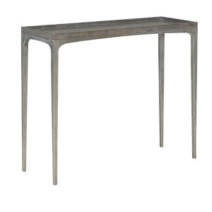 Linea Gray Sofa Table