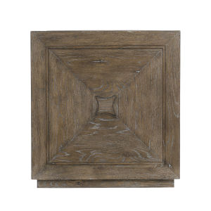 Rustic Patina Peppercorn Cube Table