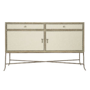 Rustic Patina Sand Two-Doors Buffet