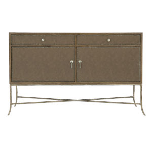 Rustic Patina Peppercorn Two-Doors Buffet