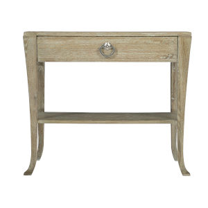 Rustic Patina Sand Single Drawer Nightstand
