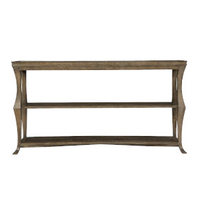 Rustic Patina Peppercorn Console Table