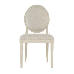 Light Gray East Hampton Oval Back Side Chair