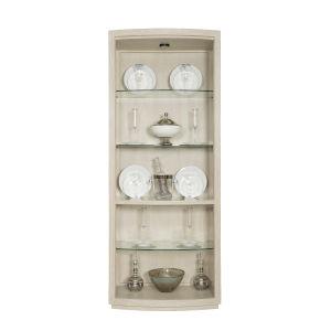 Gray East Hampton Display Curio Cabinet