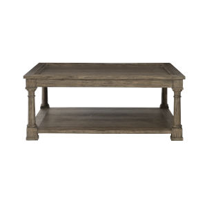 Taupe Canyon Ridge Square Cocktail Table