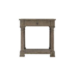 Taupe Canyon Ridge Side Table