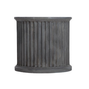 Basalt Canyon Ridge Round Side Table