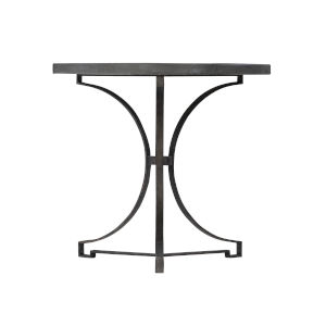 Bronze Canyon Ridge Round Metal Side Table