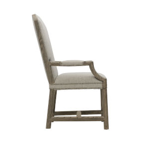 Taupe Canyon Ridge 23-Inch Upholstered Arm Chair