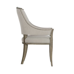 Taupe Canyon Ridge Upholstered Arm Chair