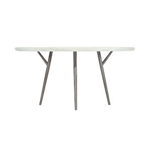 White Loft Presley Round Dining Table