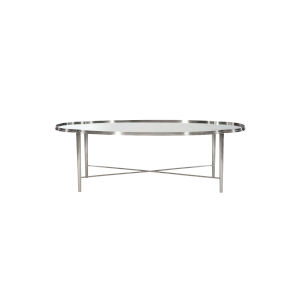 Allure Silver Mist 57-Inch Cocktail Table