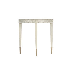 Allure Silver Mist Round End Table