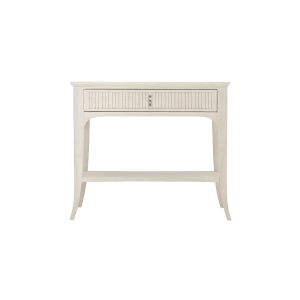 Allure Manor White 35-Inch Nightstand