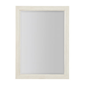 Allure Manor White 52 x 38 Inches Mirror
