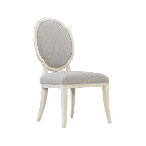Allure Manor White Side Chair