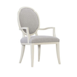 Allure Manor White Dining Chair