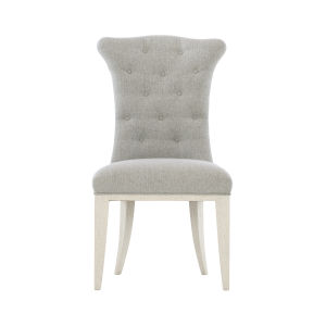 Allure Manor White High Back Dining Chair