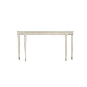 Allure Manor White 66-Inch Console Table