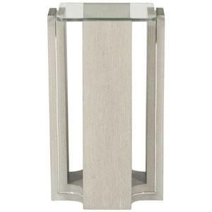 Freestanding Occasional Heather Gray 12-Inch End Table