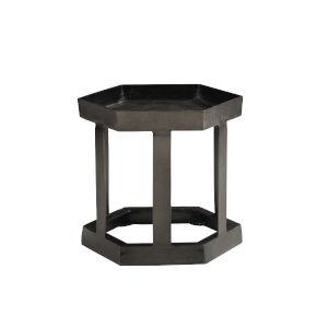 Benson Black Chairside Table