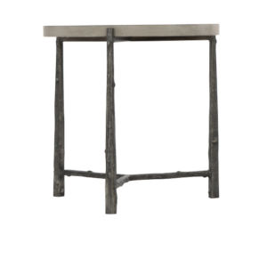 Warford Gray 29-Inch Chairside Table