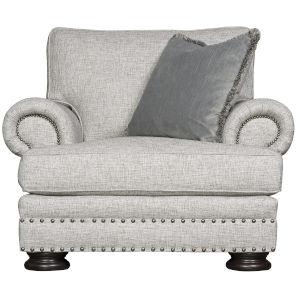 Foster Light Gray Accent Chair