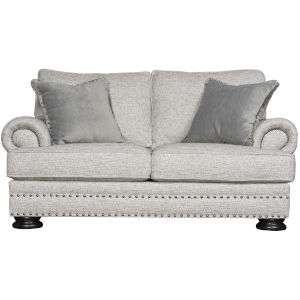 Foster Light Gray Loveseat