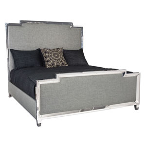 Criteria Radiant Nickel Metal, Wood and Fabric Bed