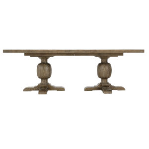 Rustic Patina Peppercorn Rectangle Dining Table