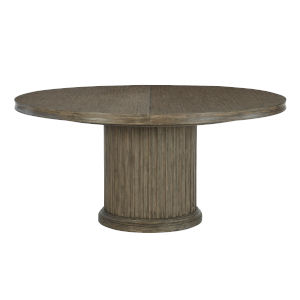 Taupe Canyon Ridge Round Dining Table