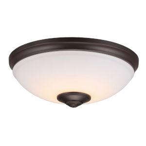 Oil Rubbed Bronze LED Ceiling Fan Light Kit