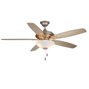 Modelo Iced Gold 52-Inch Two-Light LED Ceiling Fan