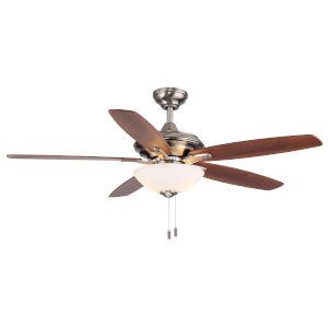 Modelo Nickel 52-Inch Two-Light LED Ceiling Fan