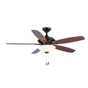Modelo Oil Rubbed Bronze 52-Inch Two-Light LED Ceiling Fan