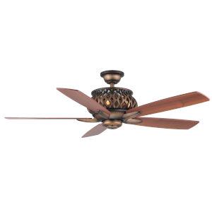 Estela French Beige 52-Inch Four-Light LED Ceiling Fan