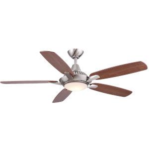 Solero Nickel 52-Inch LED Ceiling Fan