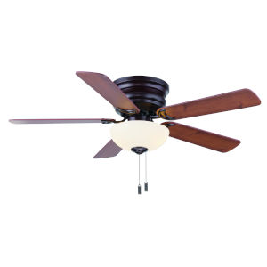 Frisco Oil Rubbed Bronze 44-Inch Two-Light LED Ceiling Fan