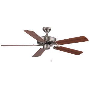 Dalton Nickel 52-Inch Two-Light Ceiling Fan