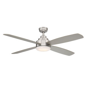 Aeris Stainless Steel 52-Inch LED Ceiling Fan