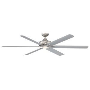 Exo Stainless Steel 70-Inch LED Ceiling Fan